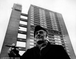 Love it or loath it, Trellick Tower in London is a good example of Brutalism—Designed by Ernö Goldfinger (pictured).