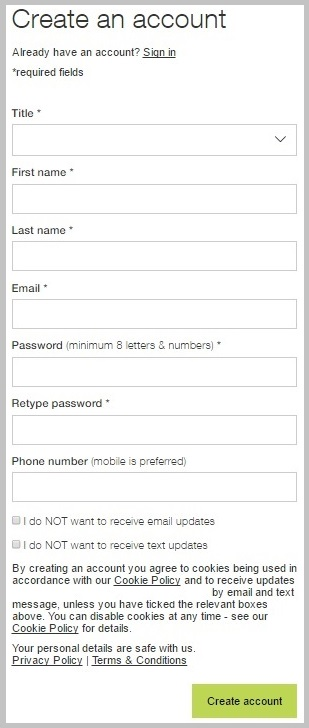 clear microcopy on forms